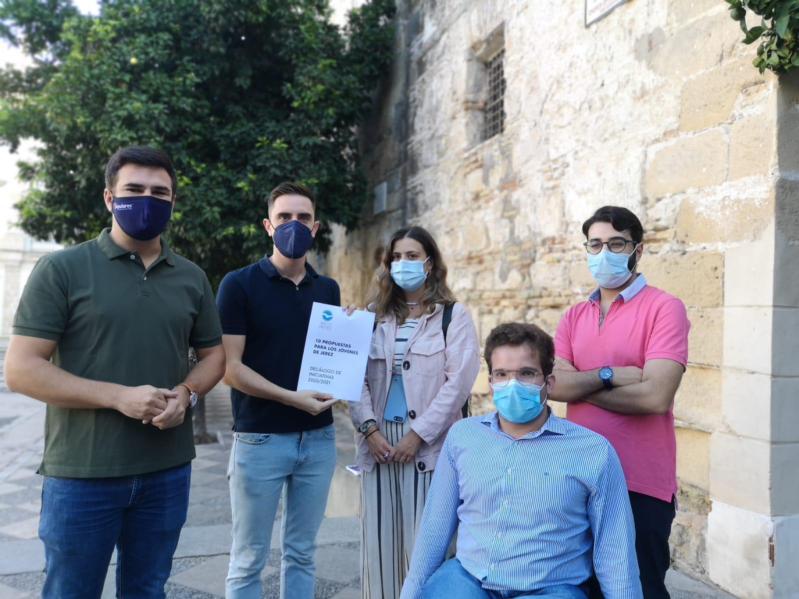 NNGG lanza un decálogo de medidas en beneficio de los jóvenes de Jerez