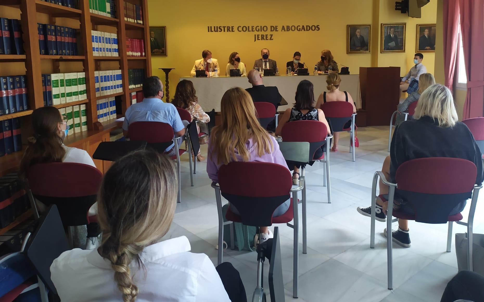 Acto de apertura del Máster Oficial de Abogacía en Jerez