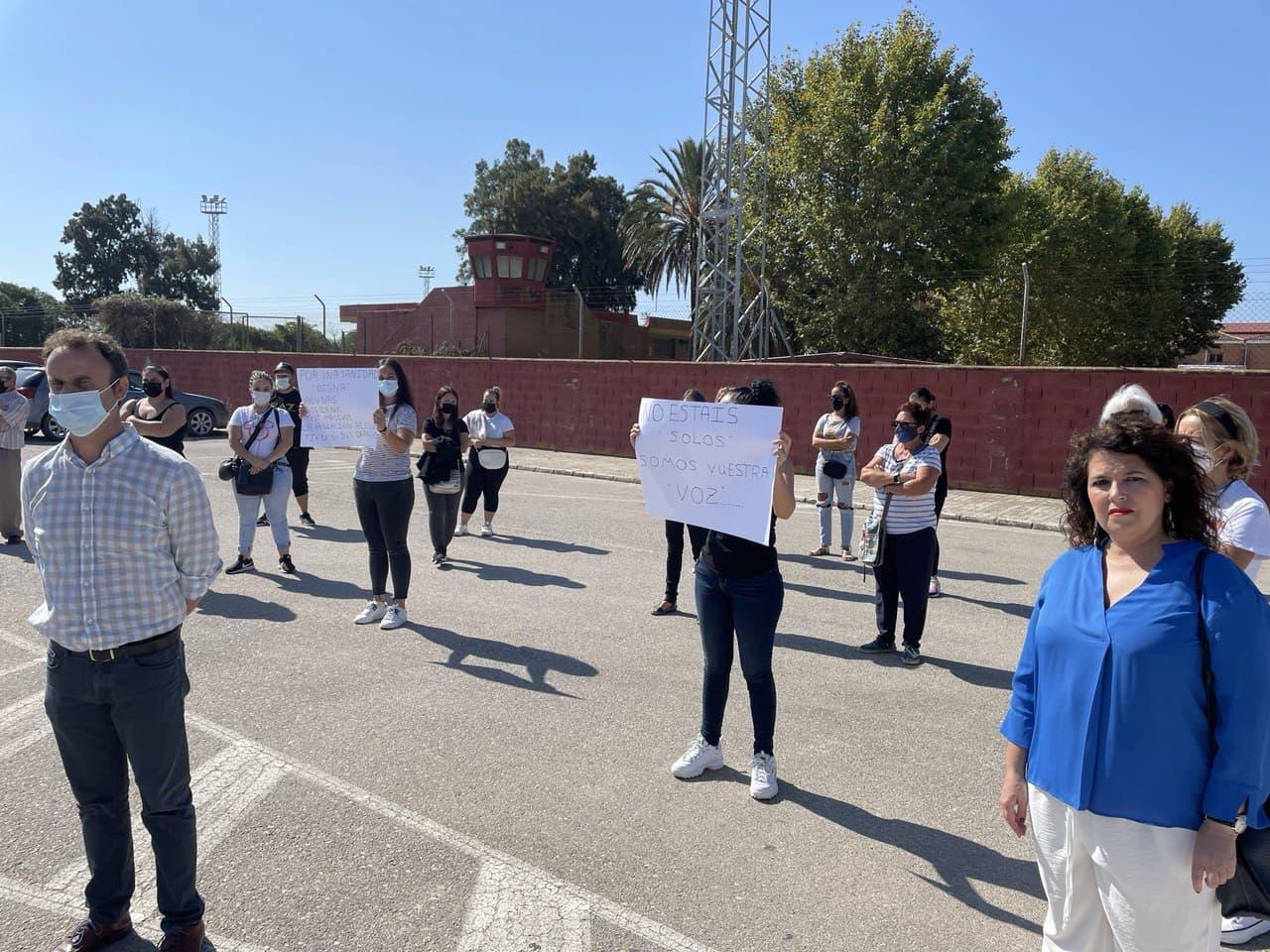 Adelante Andalucía se manifiesta en apoyo a los presos de Puerto II