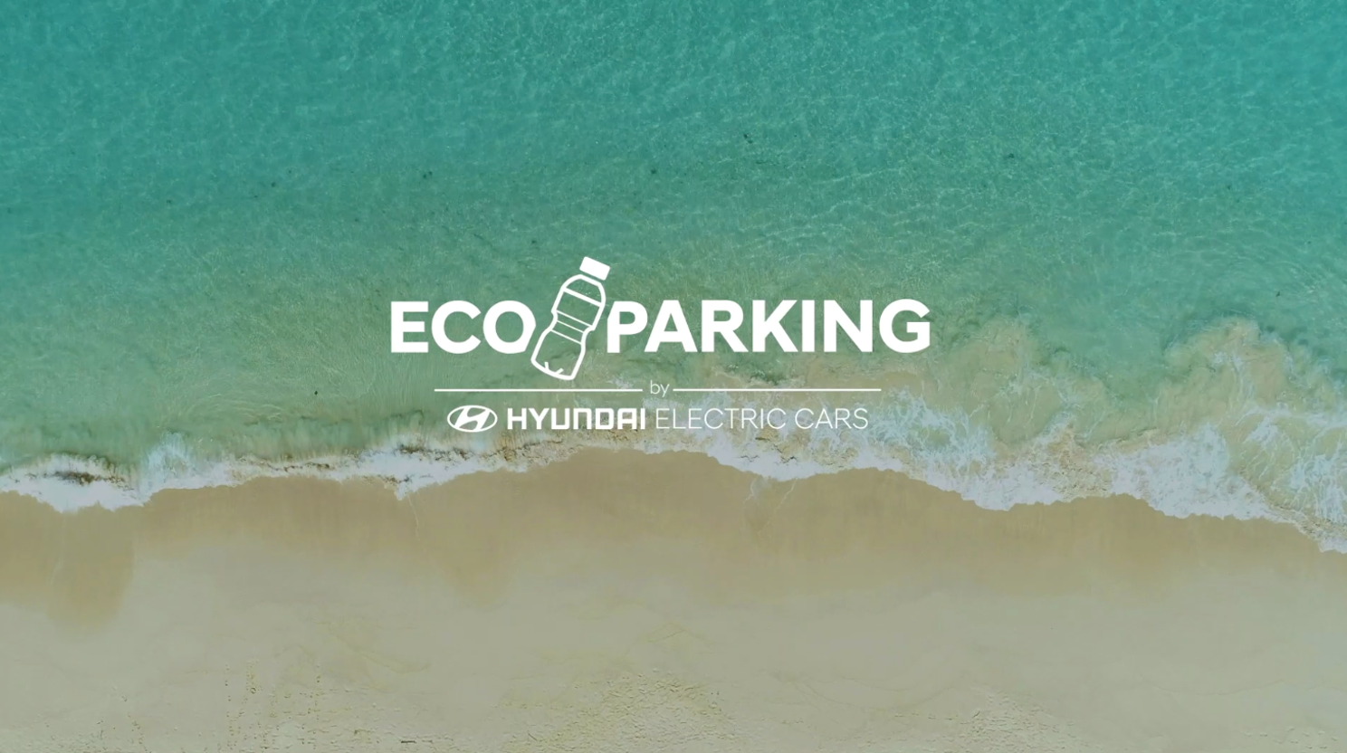 El Eco Parking de Hyundai llega a la playa de Valdelagrana