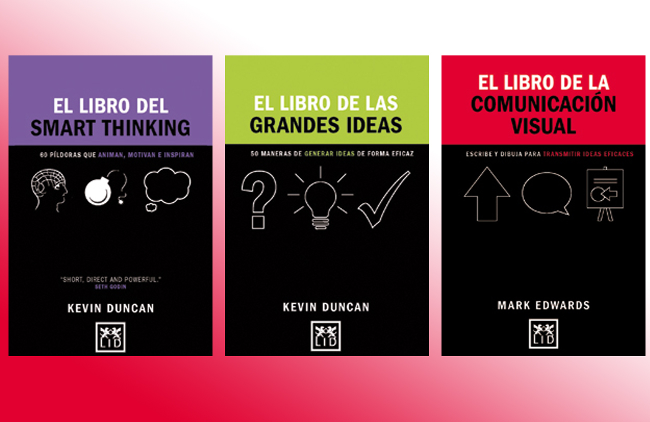 Grandes ideas, comunicación visual y 'smart thinking'