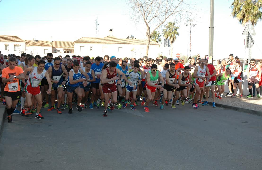 Multitudinaria participación en la Carrera Popular de Guadalcacín