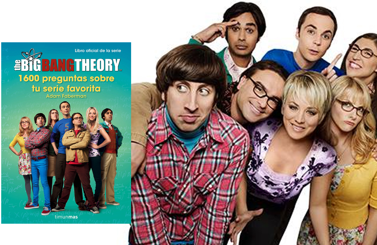 'The Big Bang Theory' en 1600 preguntas