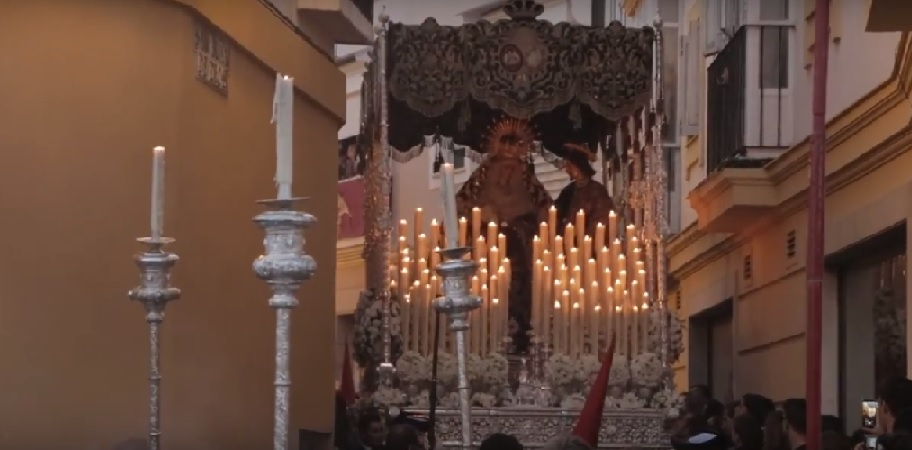 Video: El palio del Desconsuelo, en San Juan de Dios